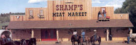 Shamp's Meat Market, Pine River Minnesota