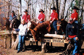 Pine River Riding Stable, Pine River Minnesota