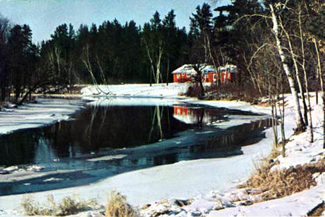 Pine River, Cass County Minnesota, 1965
