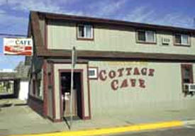 Cottage Cafe, Pine River Minnesota