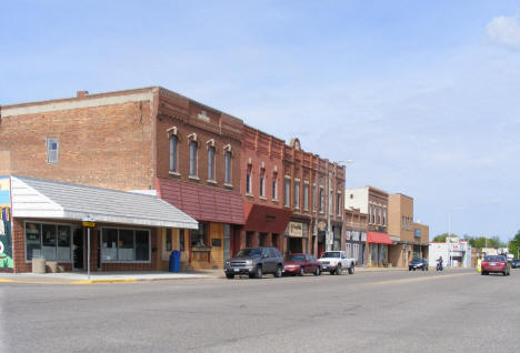 Street scene, Plainview Minnesota, 2010