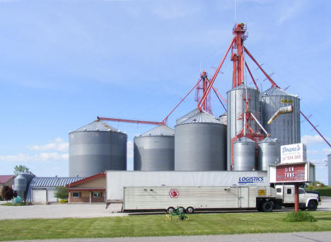 Grain elevators, Plainview Minnesota, 2010