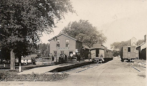 Railroad Depot, Plainview Minnesota, 1910's?