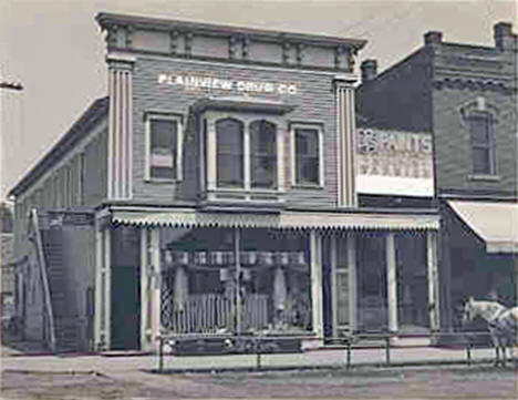 Plainview Drug Company, Plainview Minnesota, 1908