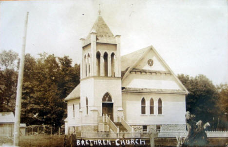 Brethren Church, Preston Minnesota, 1908