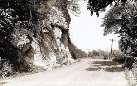 Old Harmony Road, Preston Minnesota, 1939