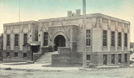 City Hall & Public Library, Preston Minnesota, 1910's