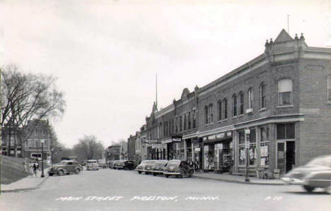 Main Street, Preston Minnesota, 1930's