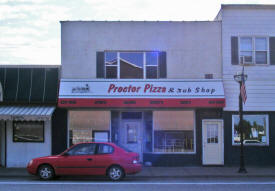 Proctor Pizza & Sub Shop, Proctor Minnesota