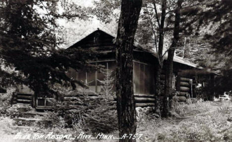 Cabin at Blue Top Resort, Ray Minnesota, 1940's