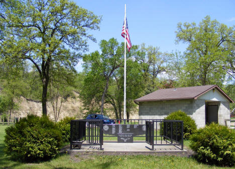 Veterans Memorial, Riverside Park, Red Lake Falls Minnesota, 2008
