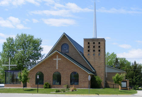St. John Lutheran Church, Red Lake Falls Minnesota, 2008
