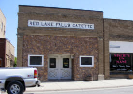 Red Lake Falls Gazette, Red Lake Falls Minnesota