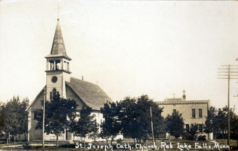 St. Joseph Catholic Church, Red Lake Falls Minnesota, 1915