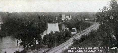 Red Lake Falls Milling Company Plant, Red Lake Falls Minnesota, 1906