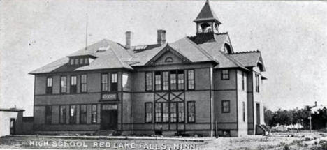 High School, Red Lake Falls Minnesota, 1907