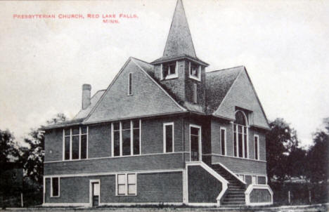 Presbyterian Church, Red Lake Falls Minnesota, 1911