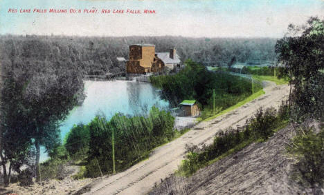 Red Lake Falls Milling Company Plant, Red Lake Falls Minnesota, 1911