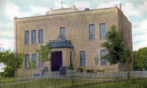 St. Joseph's School, Red Lake Minnesota, 1912
