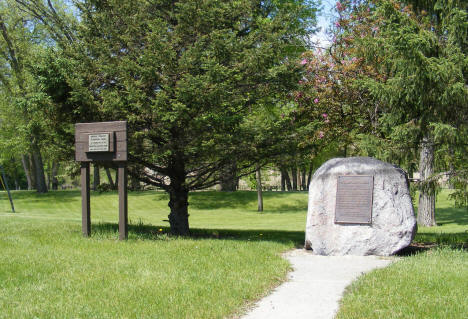 Pierre Bottineau Monument, Red Lake Falls Minnesota, 2008