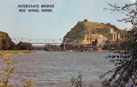 Interstate Bridge, Red Wing Minnesota, 1960's