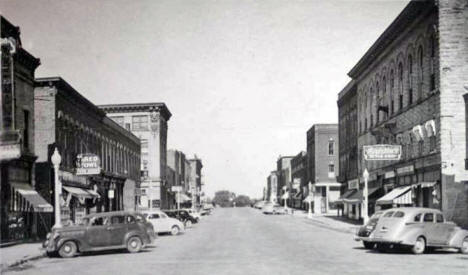 Bush Street, Red Wing Minnesota, 1940's