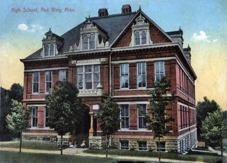 High School, Red Wing Minnesota, 1910