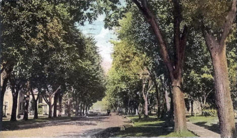 Seventh Street, Red Wing Minnesota, 1913