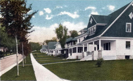 Central Avenue, Red Wing Minnesota, 1921