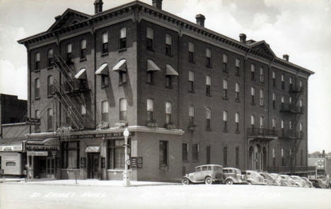 St. James Hotel, Red Wing Minnesota, 1940's