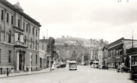 Main Street, Red Wing Minnesota, 1940's