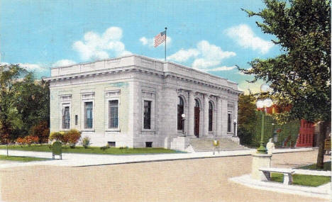 Post Office, Red Wing Minnesota, 1947