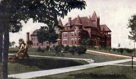 Lutheran Ladies Seminary and College for Girls, Red Wing Minnesota, 1906