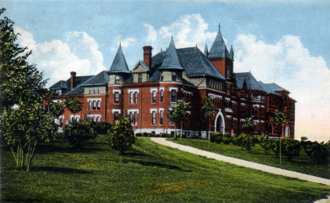 Lutheran Ladies Seminary, Red Wing Minnesota, 1916