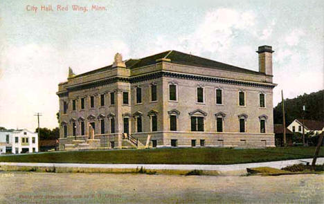 City Hall, Red Wing Minnesota, 1908