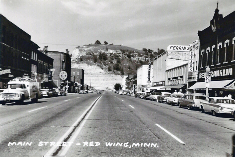 Main Street, Red Wing Minnesota, 1960