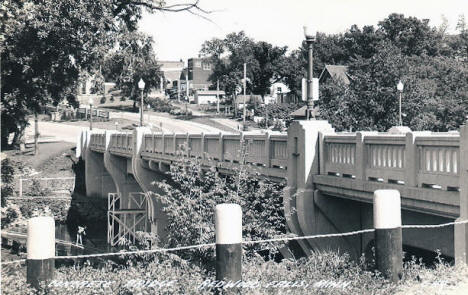 Concrete Bridge, Redwood Falls Minnesota, 1946
