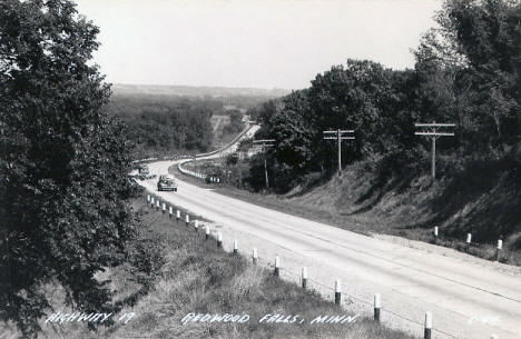 Highway 19, Redwood Falls Minnesota, 1946