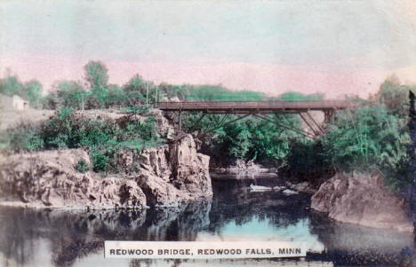 Redwood Bridge, Redwood Falls Minnesota, 1909