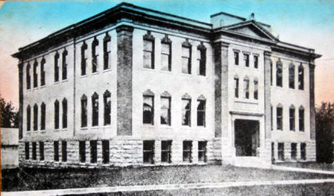 High School, Redwood Falls Minnesota, 1908