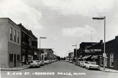 East 2nd Street, Redwood Falls Minnesota, 1960's