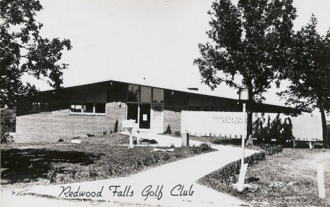 Redwood Falls Golf Club, Redwood Falls Minnesota, 1950's