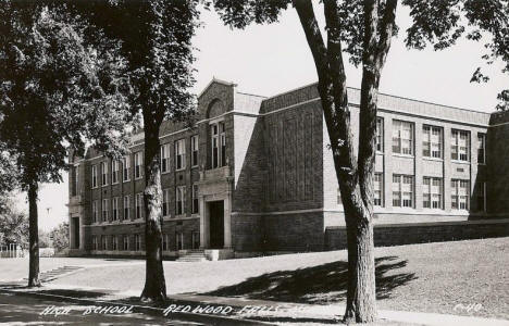 High School, Redwood Falls Minnesota, 1950's