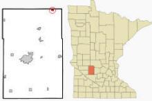 Location of Regal, Minnesota