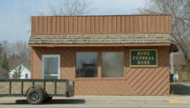 Rowe Funeral Home, Remer Minnesota