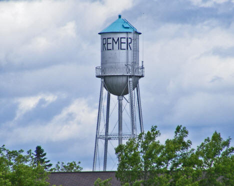 Water Tower, Remer Minnesota, 2009