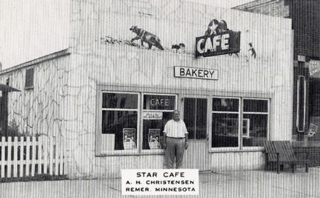 Star Cafe, Remer Minnesota, 1940's
