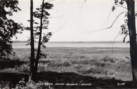 Rice Lake near Remer Minnesota, 1950's