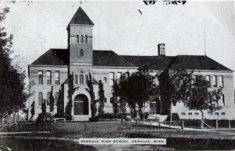 Renville High School, Renville Minnesota, 1910