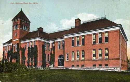 High School, Renville Minnesota, 1913